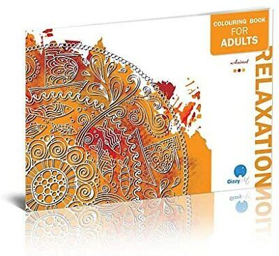 Adult Colouring Books Set of 3 with 36 Unique Relaxing Illustrations&Mandalas 2