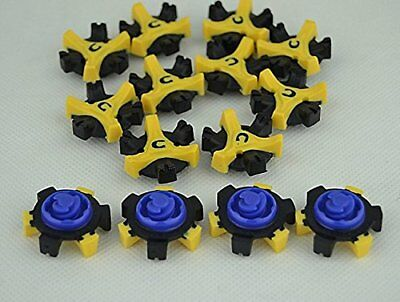 14Pcs* Golf Shoe Spikes Replacement Champ Cleat Fast Twist For Foot Joy IC1 5
