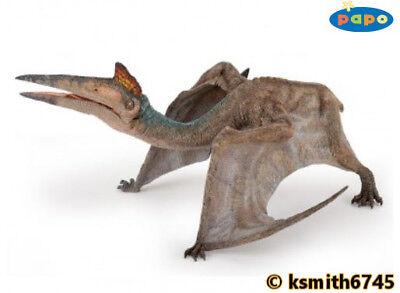Papo QUETZALCOATLUS solid plastic toy Jurassic DINOSAUR flying animal NEW *