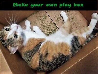 USDA Organic Catnip | Coarse or Powdered, Very Potent!!! | Buy a Sample or Bulk! 6