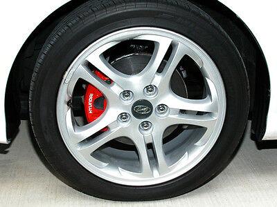 Hyundai Brake Caliper Calliper Decals Stickers - ALL OPTIONS 2