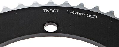 FSA Pro Track Chainring 53t x 144mm 1//2x1//8 Black