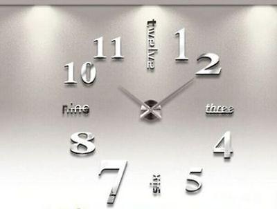 Wand Uhr Wohnzimmer Wanduhr Wandtattoo Aufkleber Deko Xxl 3d Design