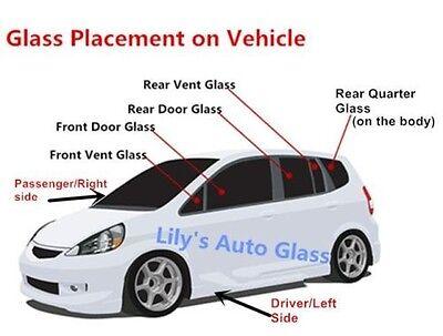 Fits Honda Passport Isuzu Rodeo Passenger Side Right Rear Door Window Glass