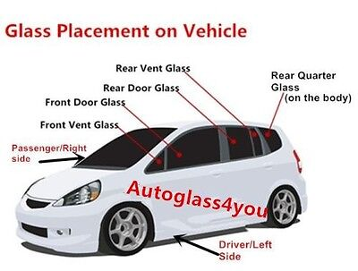 Auto Parts and Vehicles Car & Truck Parts Fit 04-14 Nissan Titan 2D Ext Cab Passenger Side Right Quarter Glass Window