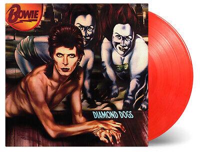 DAVID BOWIE - DIAMOND DOGS LTD 45th ANNIVERSARY RED VINYL LP MINT/SEALED 2