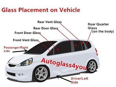 For 99-12 Ford F250//F350//F450//F550//F650//F750 Rear Window Glass Passenger//Right