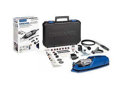 Dremel NEW 4000-65 ROTARY MULTI TOOL + Dremel 335 Router Att + Dremel 660 Cutter 8