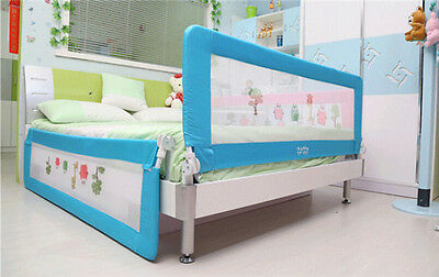 1.5M 1.8M Kid Toddler Infant Bed Rail Safety Protection Guard Folding Bedrail AP