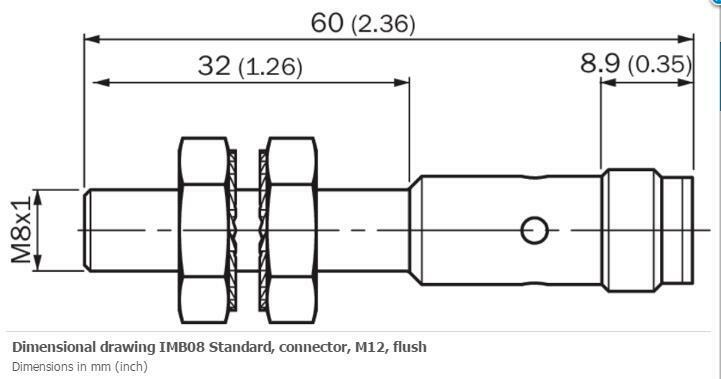 H● SICK  IMF12-02BPPVC0S Inductive proximity sensors  ,PNP,New. 2