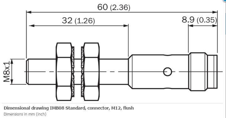 H● SICK  IMF12-02BPPVC0S Inductive proximity sensors  ,PNP,New. 4