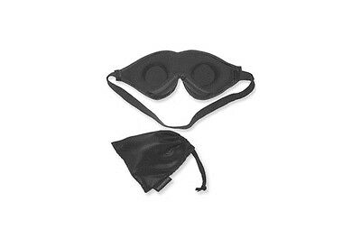 d40739b19 ... Dream Essentials Escape Luxury Travel Sleep Mask w  Carry Pouch    Earplugs Black 4