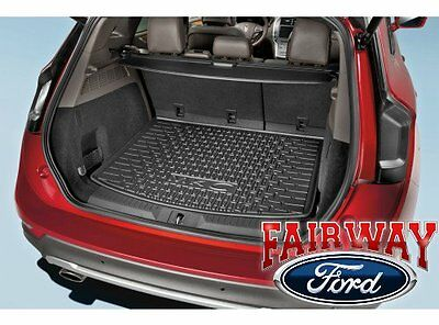 15 thru 19 Mustang OEM Genuine Ford Black Cargo Area Protector Mat w//o Subwoofer