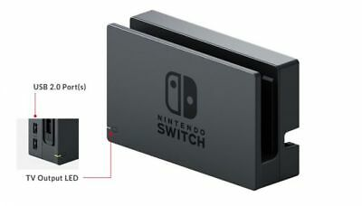 Genuine Nintendo Switch Docking Station + AC Adapter Power Cable Canadian Seller 3