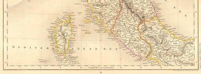 Cartina Geografica Centro Nord Italia.Italia Settentrionale Centro Nord Carta Geografica Originale 1800 Eur 50 00 Picclick Fr