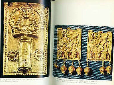 Greek Roman Hellenic Etruscan Gold Jewelry 68 Color Pix Trade Production Wearing 3 • CAD $42.83