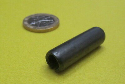 """Steel Slotted Roll Spring Pin, 3/8"""" Dia x 1.25"""" Length, 25 pcs 3"""