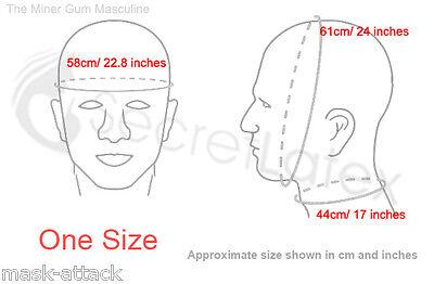 Flesh Latex Rubber Hood Full Head Anatomical Fetish Dress Masculine Male Mask 3