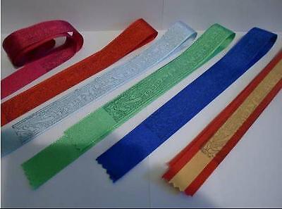 - LOTE DE 8 CINTAS VIRGEN DEL PILAR, colores a elegir,,Envio certificado.. 2