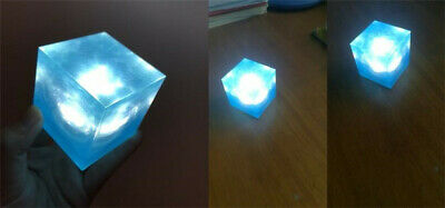 Avengers Tesseract Cube 1/1 Scale Marvel Infinity War Thanos Led Cosplay Props 7