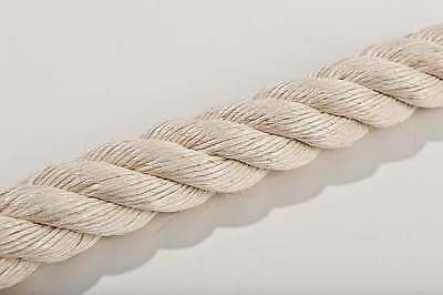 Sisal Seil Sisalseil 6-20mm - 220m Natur unbehandelt Katzen Kratzbaum Katzenbaum 4