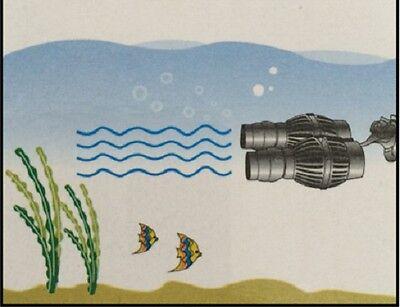 Wave Maker Pompe De Circulation Vague Aquarium Eau Douce/salée 8.000 L/h Wm5 5
