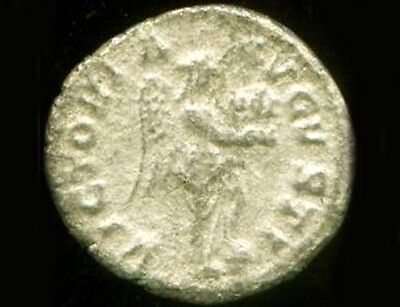 Silver Roman Denari (Coin) Emperor Severus Alexander Goddess Victory Nike AD231 3