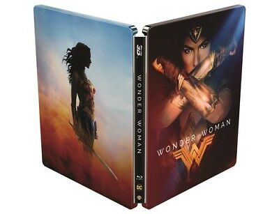 Wonder Woman 3D (4000 ONLY HMV Exclusive Limited Ed Blu-ray Steelbook) [UK 2