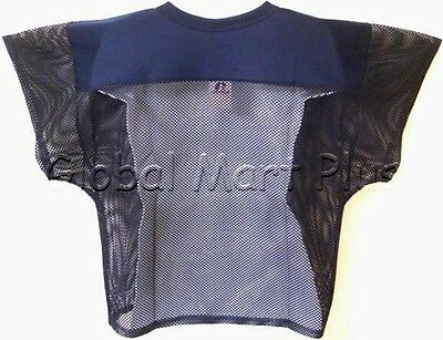... Football Practice Jersey Cropped Over Pads V Neck Mesh Mens Russell  Athletic 2 24a39f1d7