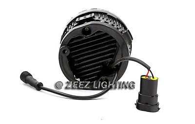 LED Projector Fog Driving Lamp w/ DRL Daytime Running Light For Cars Trucks SUVs 4