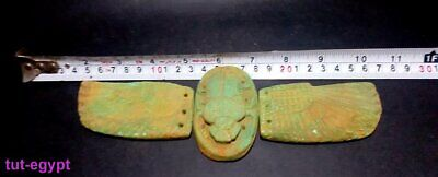 RARE Fabulous Winged Scarab Beetle Khepri God Of Protection Egyptian Antiquitie 12