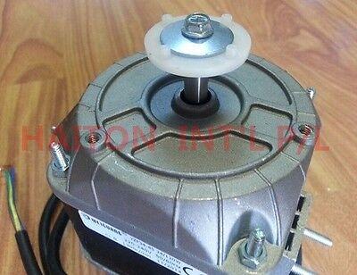 Heavy Duty Square Fan Motor 34W sleeve bearing dual mounting distance18/26mm 3
