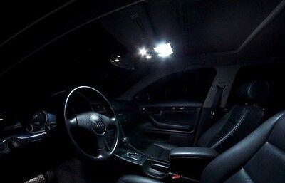 Pack FULL LED int/érieur pour A6 C6 berline Kit ampoules blanc pur