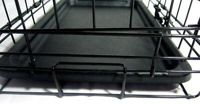 Folding Metal Dog Cage By Mr Barker Puppy Training Crates 5 sizes 24-42 Inch 8