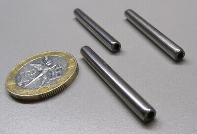 """420 Stainless Steel Coiled Spring Pin, 5/32"""" Dia x 1 1/2"""" Length,  25 pcs 8"""