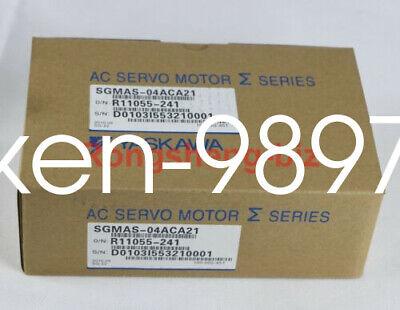 1PC NEW Yaskawa servo motor SGMAS-04ACA21 #HC 7