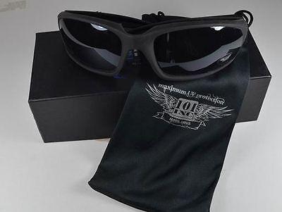 Lunette de soleil spécial moto biker   matelassées  uv 400 3