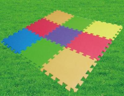18 Pack Eva Foam Soft Play Mats Interlocking Kids Activity Set Floor 29cm Tiles 3