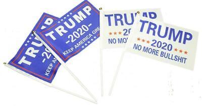 3x5 Ft Trump 2020 Keep / Make America Great President MAGA No More BS Train Flag 10