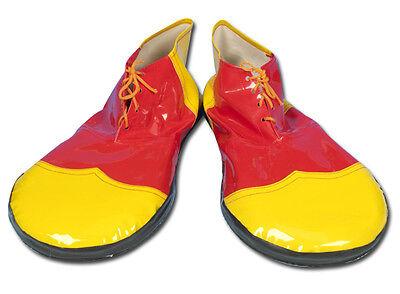 Unisex Ronald McDonald Costume Kit Clown Fancy Dress Wig MakeUp Nose Shoes Socks 2