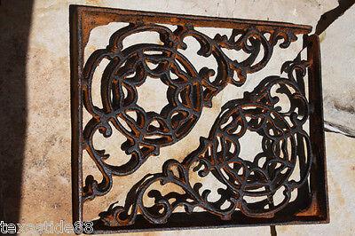 (2) Christmas Gift For Him, Cobweb Shelf Brackets, Rustic Barn Decor, B-7 4