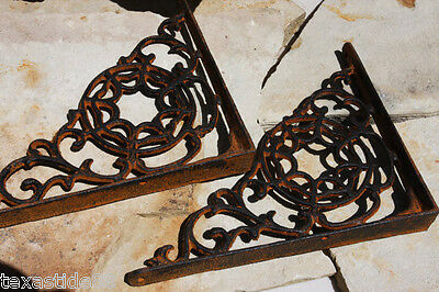 (8) Rustic, Shelf Brackets, Corbels,kitchen remodel,home remodeling, Web B -7 3