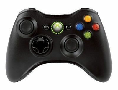 Microsoft Xbox 360 Wireless Controller Remote (BLACK) - Brand NEW! Fast Shipping 3