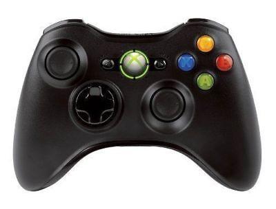 Official Microsoft Xbox 360 Wireless Controller BLACK/WHITE - NEW! CA Stock 4