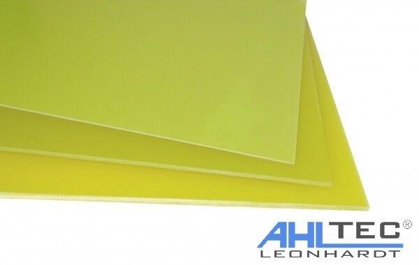 Dicke 1,5 mm GFK Platte G10 FR4 weiß Glasfaser Größe wählbar
