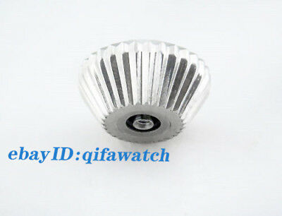 Watch Crown 316L Stainless Steel Fit Seagull ST36 Eta 6497/6498 Mechanical P217 4