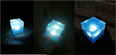 Avengers Tesseract Cube 1/1 Scale Marvel Infinity War Thanos Led Cosplay Props 6