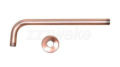 Antique Red Copper Shower Arm for Wall mounted Shower Head Fixed Pipe Zsh100 2