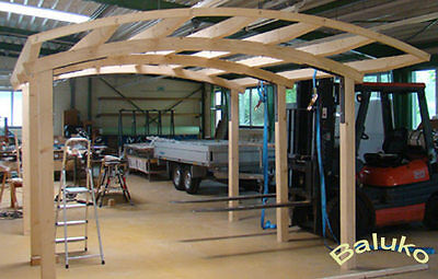 carport bausatz carport holz bogencarport. Black Bedroom Furniture Sets. Home Design Ideas