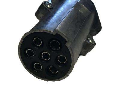 7 Pin 24N Metal Towing Plug Self Wire 24V Trailer Lorry Lighting Mp122B Maypole 2